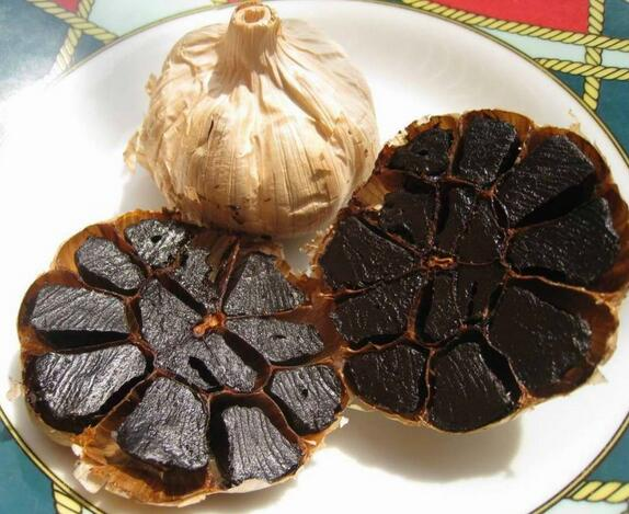 Healthy Aged Black garlic