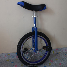 "Motorcycle 24"" one wheel bike Double alloy rim Height Adjustable Blue color CE/ASTM F963-11 Approved"