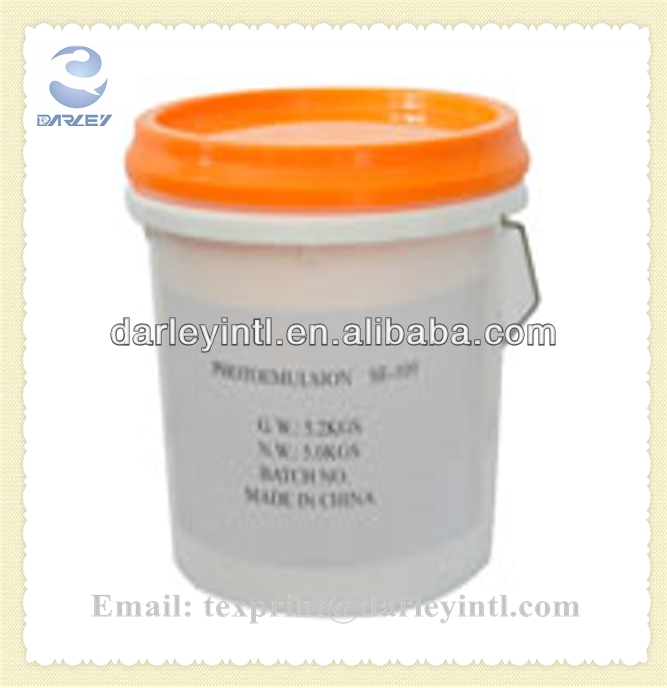 photo emulsion for rotary printing screen