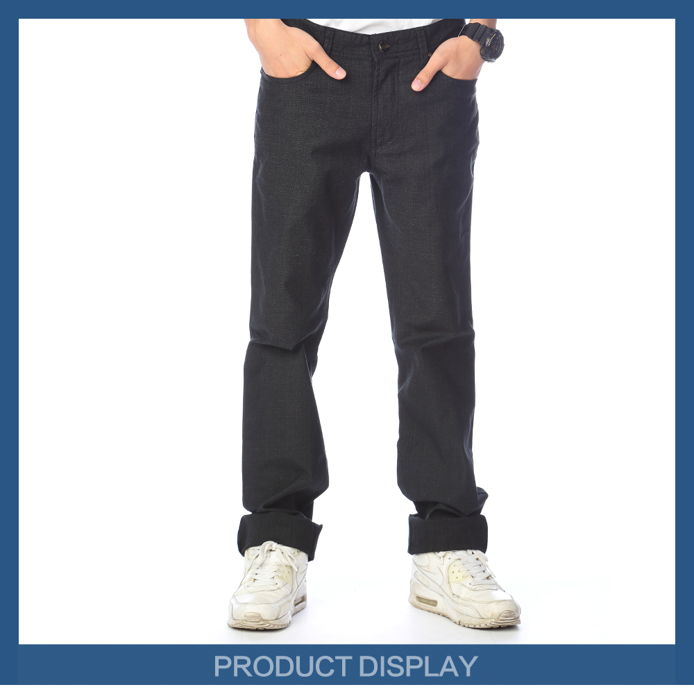 New style boys pants mens jeans trousers in cotton jeans fabric