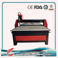 shenhui large working table 1300*2500 3d wood carving cnc router for wooden doors and furniture
