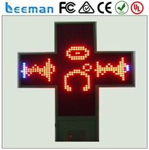 full color display led outdoor solar powered led signs high quality led pharmacy