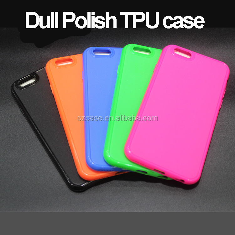 Jelly Soft Ultra Thin Dull Polish TPU Phone Cover Case for Samsung Galaxy S5 mini