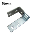 Factory OEM manufacture stainless steel stamping channel brackets