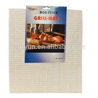 Non-stick Cooking Mesh Sheet/ Crispness Grid - PTFE coated fiberglass for baking crispness, pizza in oven, BBQ grill