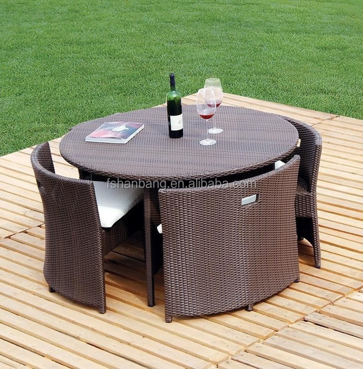 Hot sale outdoor synthetic resin round 4 5 6 8 10 12 seat for Sofa exterior rattan sintetico
