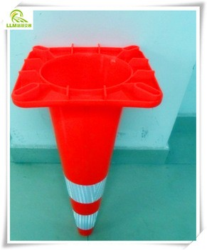 1000mm Road Safety reflective security pvc cone