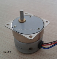 42mm reduction ratio 1/50 high power stepper motor