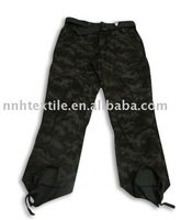 Casual long cargo pants capri