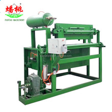 high quality waste paper pulp moulding tray production line/ automatic rotary 30 cavities egg tray making machine