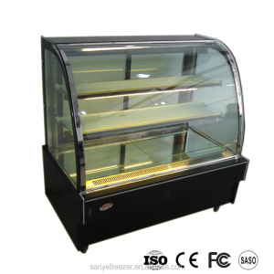 marble based bakery cooler / cake display cabinet / cake refrigerator with CE certificate