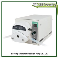 Cement water reducer peristaltic pump