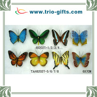 Resin butterfly fridge magnets