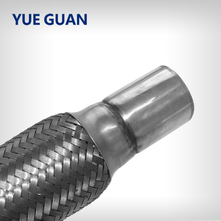 braided flexible pipe, car exhaust flex pipe with extension tube