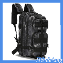 Professional Solid Outdoor Waterproof 3D Military Tactical Backpack