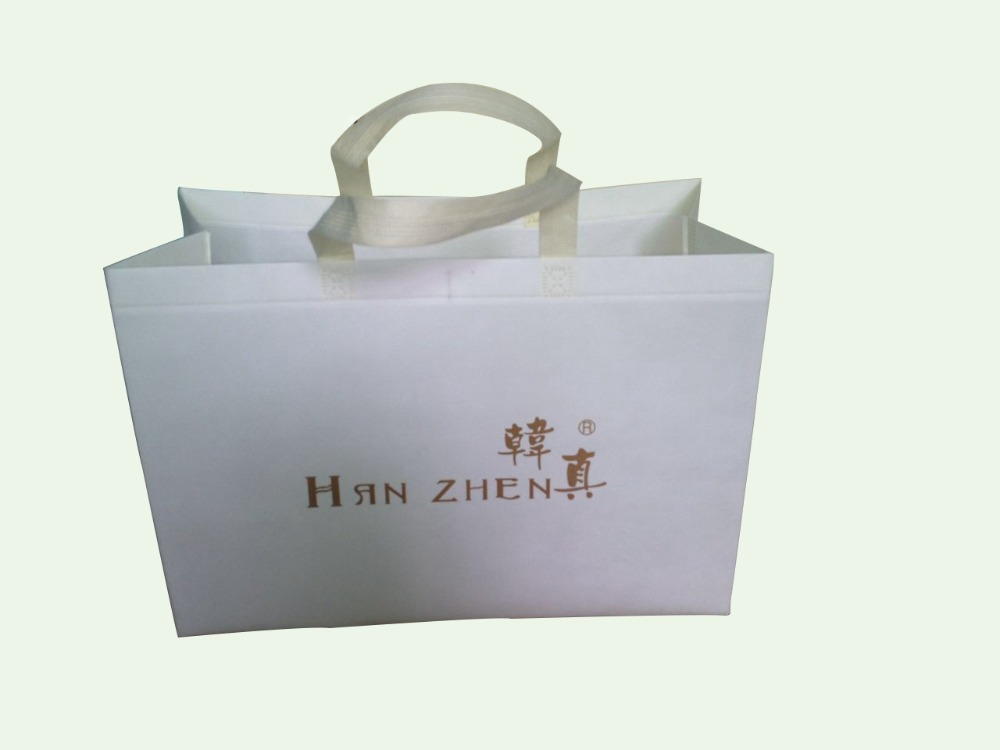 promotion laminating pp non woven shopping tote bag