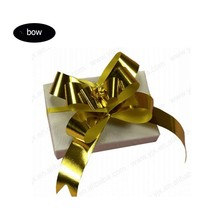 pre-tied satin ribbon bow with elastic band