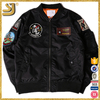 OEM New Design Custom Embroidery Logo Patch Men Bomber Jacket
