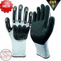 NMSAFETY 2014 new winter cut resistant glove latex cut resistant level 5 anti-cold NMSAFETY importer of working gloves in Chin