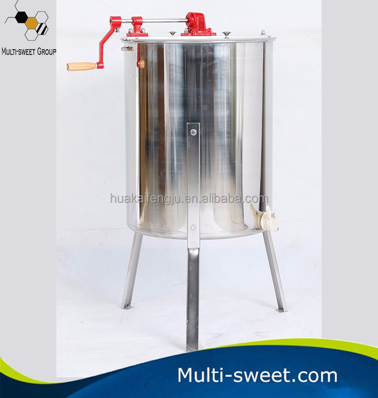 Manual Shake Honey Machine Electric Bee 4 Frames Honey Extractor
