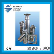 Double-wall Stove Chimney Flue Pipe with CE Certificate