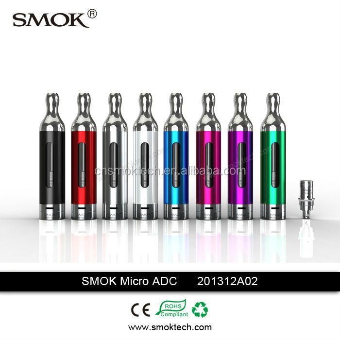 2014 Newest Smoktech Pyrex Micro ADC II Vaporizer Pen Airflow Control E Smoking Device