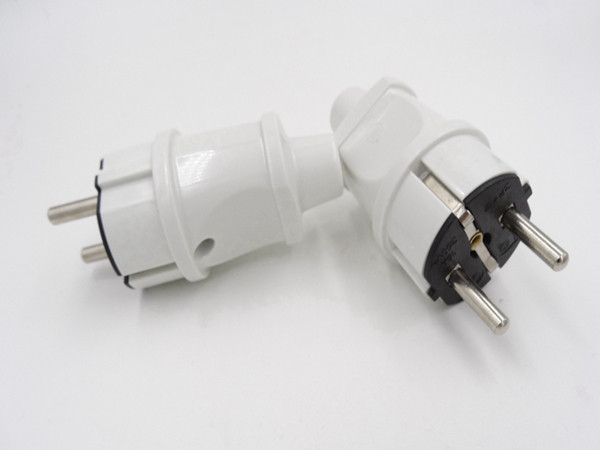 Professional Reliable VDE Approved Germany AC power plug/16A waterproof EU adapter/2pins Schuko power plug