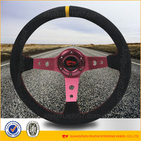 Racing Suede racing car steering wheel(rc-5125)