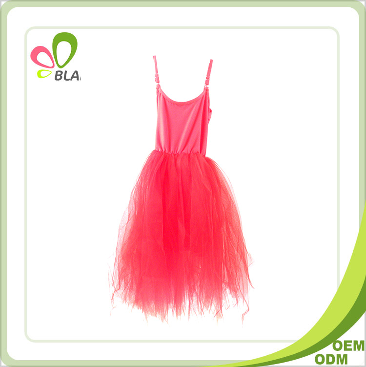 Unique good quality nice style red fashion dresses for 2-8 years girl