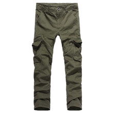 1 pc hot sale models factory directly supply high-grade fabrics cotton multi-pocket overalls outdoor leisure pants for men
