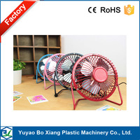 Aluminum 4 inch 5V computer usb fan four fans laptop cooling mini fan/ Mini usb flash air cooling fan with CE&ROHS