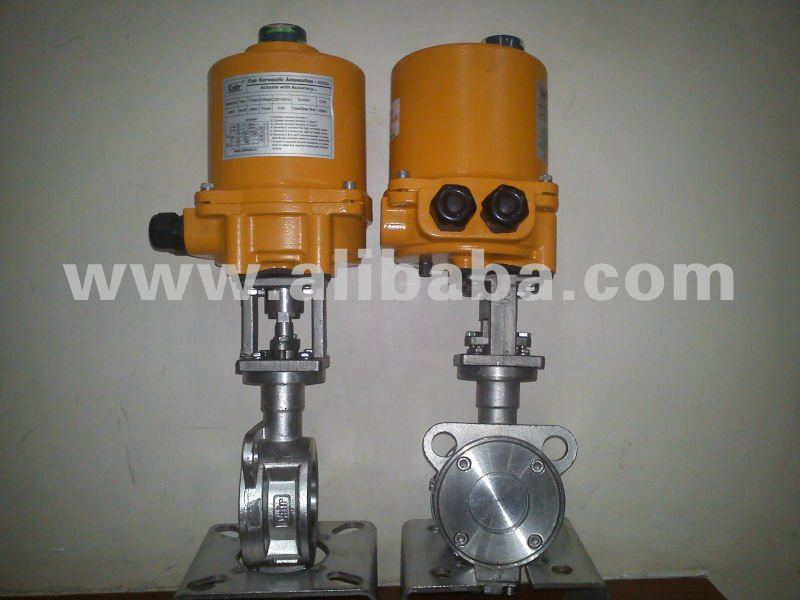Motorized metal Seated Valves