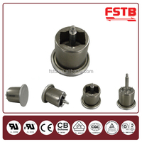 Manual Action Bimetal Disc Thermostat Temperature Cut Off Switch Electric Oven Thermostats Control Switches