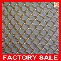 2015 hot sale decorative metal mesh curtain / decorative fencing chain link wire mesh