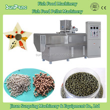 Sunpring floating fish feed pellet extruder SP65 / pet food pellet making machineachine with factory price