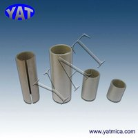 High temperature electrical insulation sleeve (Mica materials)
