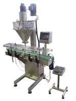 Automatic Linear Soybean Powder Bottle &Cans Filling Machine,Powder Filling Machine