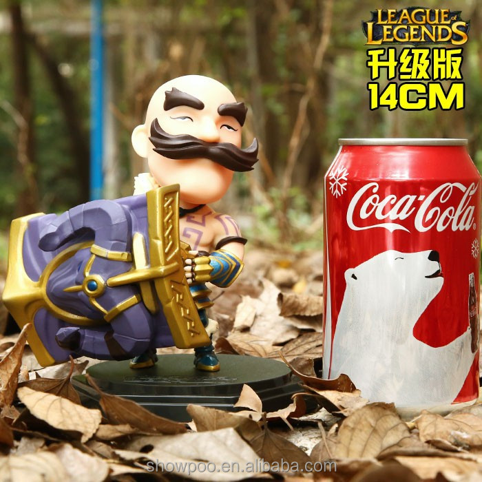 14CM League of Legend Figure FRELJORD PVC LOL Figure