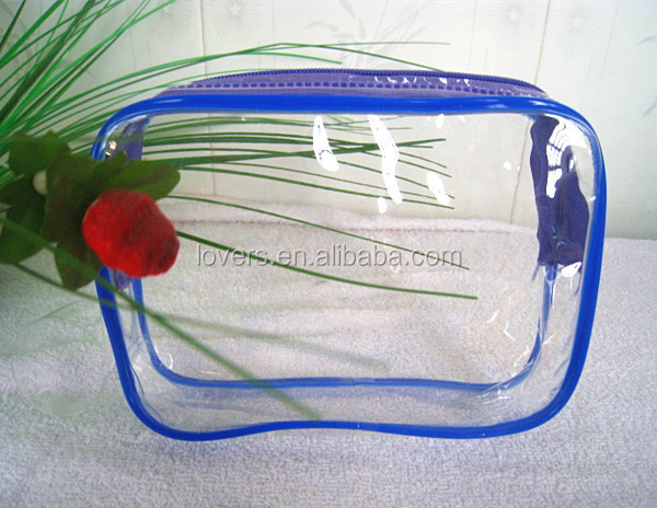Promotional clear cosmetic bag