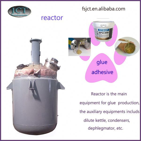 machine for solvent based acrylic adhesive