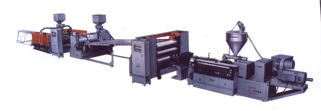 PVC Foaming Sheet Machine