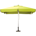 3*3m garden umbrella outdoor aluminum parasol with marble base
