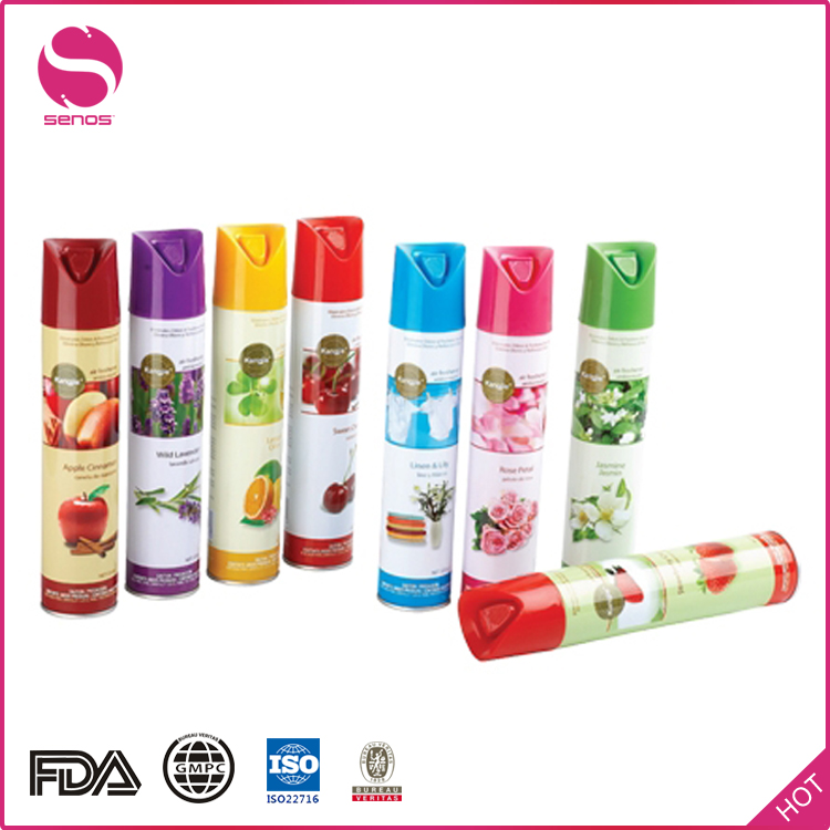Senos Promotion Custom Logo Water Based Used In Hotel Spray Air Freshener Manufacturers