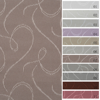 New model design emboss blackout curtain fabric