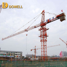 Self-ascending small standard 1-12t luffing jib tower crane