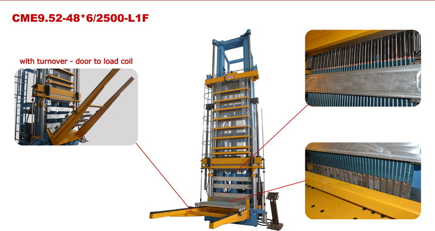 Vertical tube expander machine