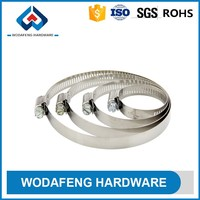 American type heavy duty fashion single ring fire hose clamp