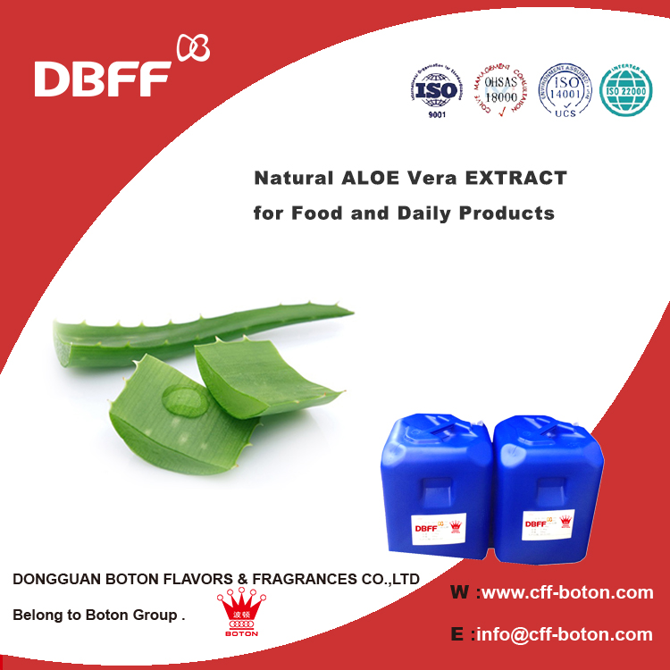 Natural ALOE Vera EXTRACT for Food and Daily Products