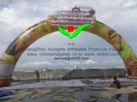 inflatable comercial LOGO arch door inflatable promotion arch door