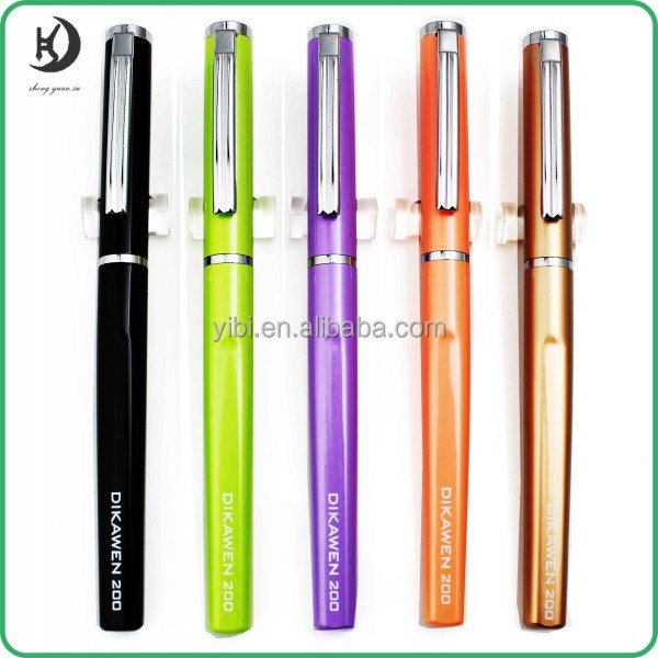 2016 hot sale Novelty Colorful Wholesale good quality fountain pen Stationery metal Fountain Pen